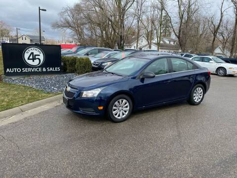 2011 Chevrolet Cruze for sale at Station 45 Auto Sales Inc in Allendale MI