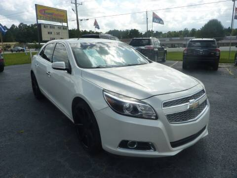 2013 Chevrolet Malibu for sale at Roswell Auto Imports in Austell GA