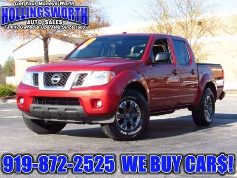 2016 Nissan Frontier for sale at Hollingsworth Auto Sales in Raleigh NC