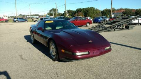 1995 Chevrolet Corvette for sale at Kelly & Kelly Supermarket of Cars in Fayetteville NC