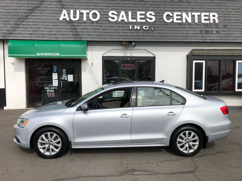 2012 Volkswagen Jetta for sale at Auto Sales Center Inc in Holyoke MA