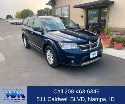 2014 Dodge Journey for sale at Western Mountain Bus & Auto Sales in Nampa ID