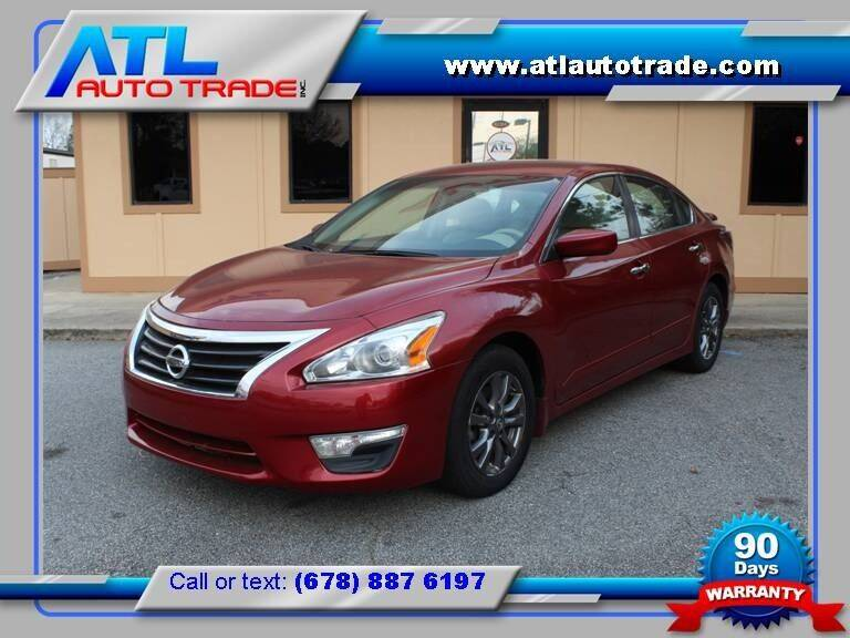 2015 Nissan Altima for sale at ATL Auto Trade, Inc. in Stone Mountain GA
