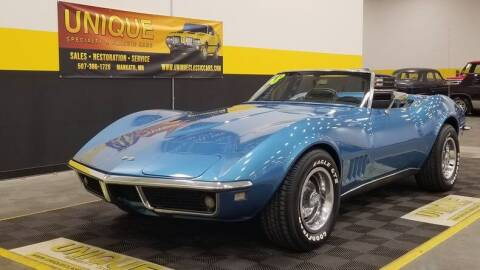 1968 Chevrolet Corvette for sale at UNIQUE SPECIALTY & CLASSICS in Mankato MN