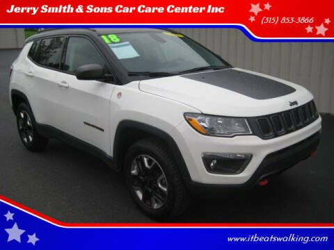 2018 Jeep Compass for sale at Jerry Smith & Sons Car Care Center Inc in Westmoreland NY