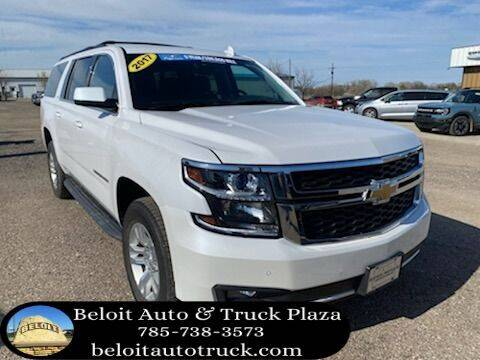 2017 Chevrolet Suburban for sale at BELOIT AUTO & TRUCK PLAZA INC in Beloit KS