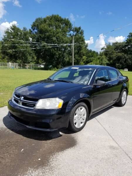 2012 Dodge Avenger for sale at Massey Auto Sales in Mulberry FL