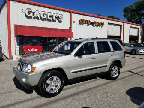2007 Jeep Grand Cherokee for sale at Gagel's Auto Sales in Gibsonton FL