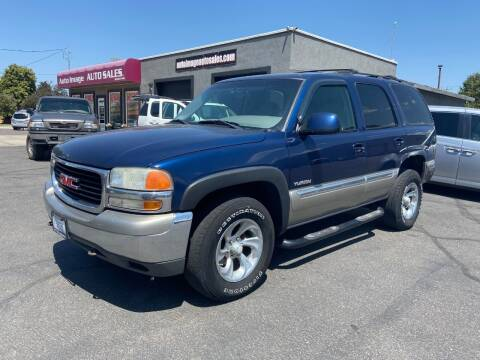 2000 GMC Yukon for sale at Auto Image Auto Sales in Pocatello ID