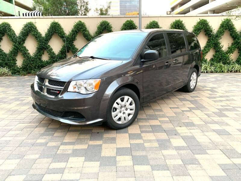 2018 Dodge Grand Caravan for sale at ROGERS MOTORCARS in Houston TX