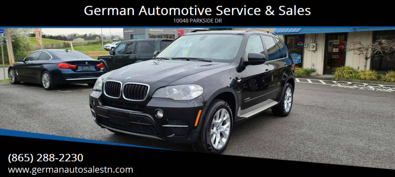 2012 BMW X5 for sale at German Automotive Service & Sales in Knoxville TN