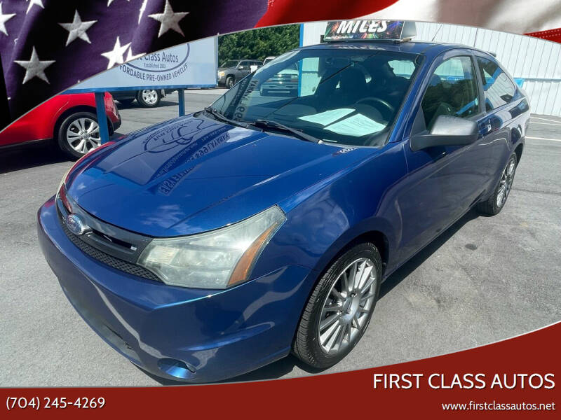 2009 Ford Focus for sale at First Class Autos in Maiden NC