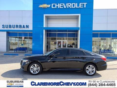 2019 Honda Accord for sale at Suburban Chevrolet in Claremore OK