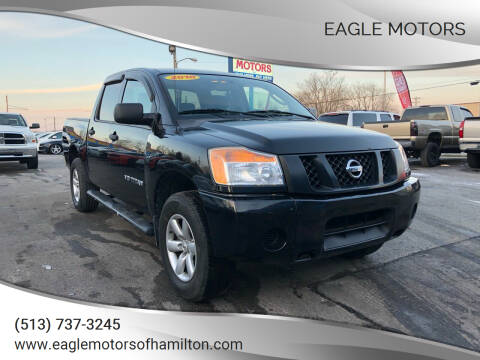 2010 Nissan Titan for sale at Eagle Motors in Hamilton OH