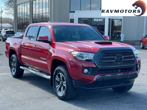 2017 Toyota Tacoma for sale at RAVMOTORS 2 in Crystal MN