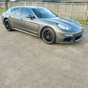 2016 Porsche Panamera for sale at MOTORSPORTS IMPORTS in Houston TX