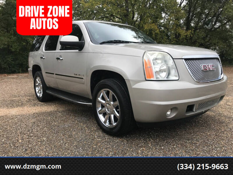 2009 GMC Yukon for sale at DRIVE ZONE AUTOS in Montgomery AL
