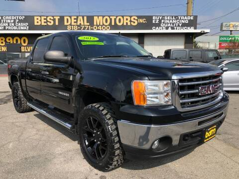 2013 GMC Sierra 1500 for sale at BEST DEAL MOTORS  INC. CARS AND TRUCKS FOR SALE in Sun Valley CA