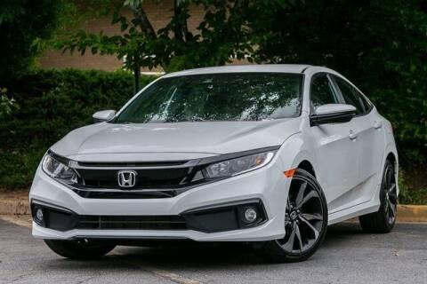 2020 Honda Civic for sale at Gravity Autos Atlanta in Atlanta GA
