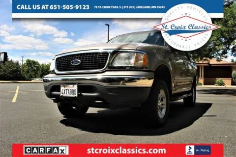 2001 Ford Expedition for sale at St. Croix Classics in Lakeland MN