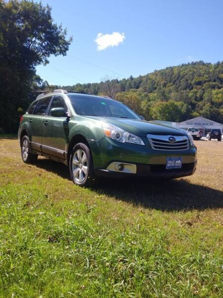 2010 Subaru Outback for sale at Valley Motor Sales in Bethel VT