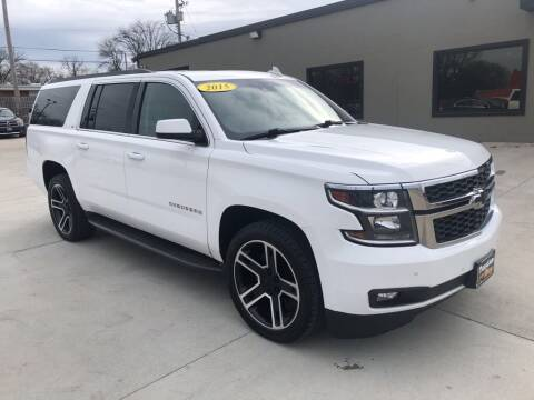 2015 Chevrolet Suburban for sale at Tigerland Motors in Sedalia MO