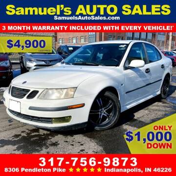 2003 Saab 9-3 for sale at Samuel's Auto Sales in Indianapolis IN