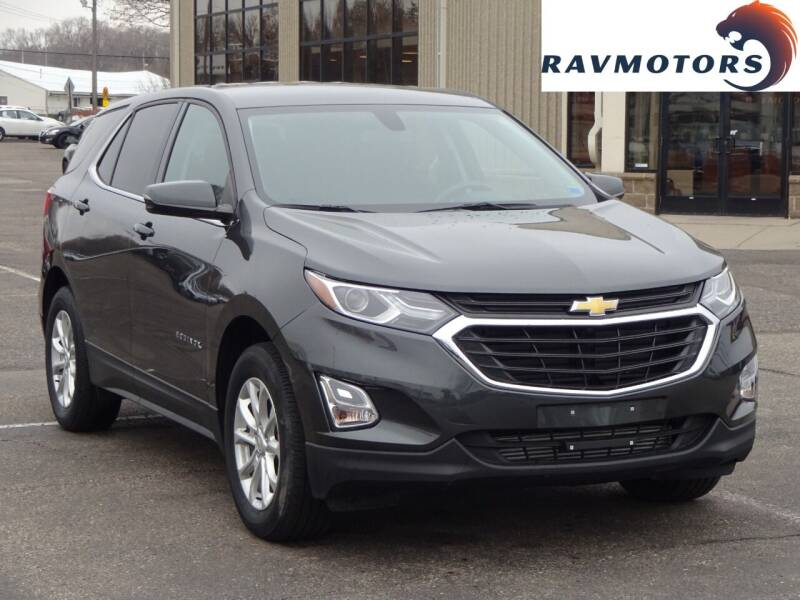 2018 Chevrolet Equinox for sale at RAVMOTORS 2 in Crystal MN