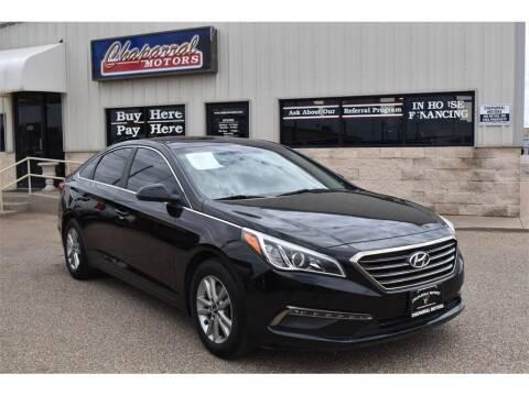 2015 Hyundai Sonata for sale at Chaparral Motors in Lubbock TX