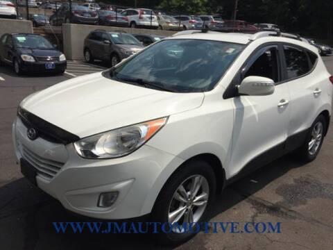 2013 Hyundai Tucson for sale at J & M Automotive in Naugatuck CT