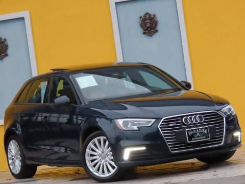2017 Audi A3 Sportback e-tron for sale at Paradise Motor Sports LLC in Lexington KY