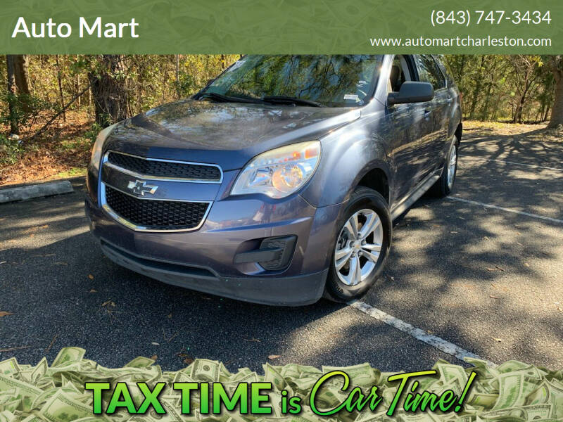 2014 Chevrolet Equinox for sale at Auto Mart in North Charleston SC