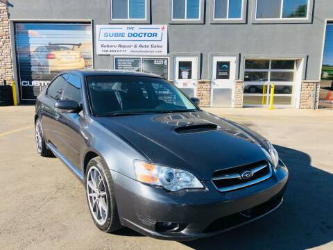 2007 Subaru Legacy for sale at The Subie Doctor in Denver CO