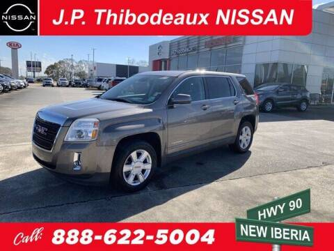 2012 GMC Terrain for sale at J P Thibodeaux Used Cars in New Iberia LA