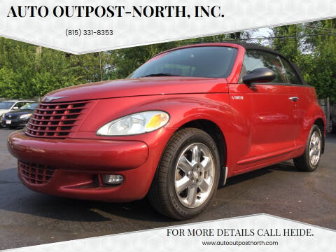 2005 Chrysler PT Cruiser for sale at Auto Outpost-North, Inc. in McHenry IL