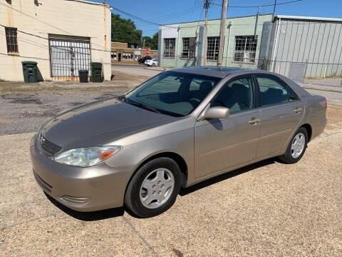2002 Toyota Camry for sale at Memphis Auto Sales in Memphis TN