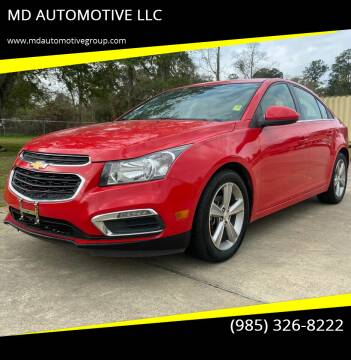 2015 Chevrolet Cruze for sale at MD AUTOMOTIVE LLC in Slidell LA