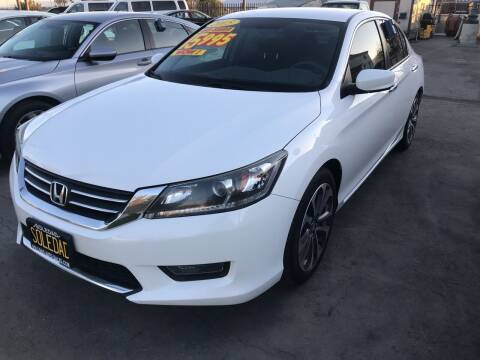 2015 Honda Accord for sale at Soledad Auto Sales in Soledad CA