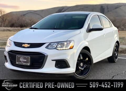 2018 Chevrolet Sonic for sale at Premier Auto Group in Union Gap WA