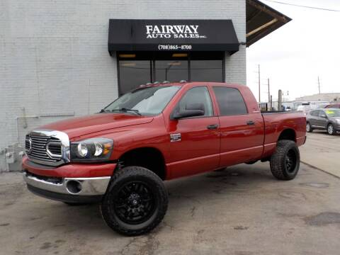 2007 Dodge Ram Pickup 2500 for sale at FAIRWAY AUTO SALES, INC. in Melrose Park IL
