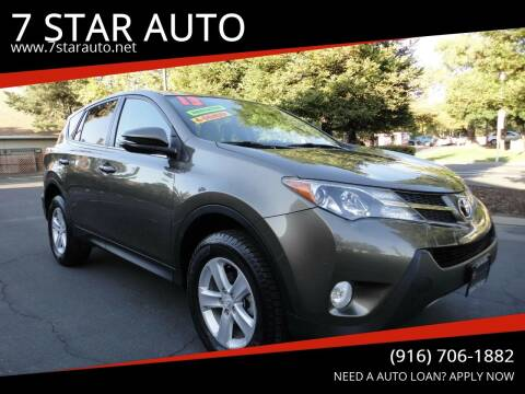 2013 Toyota RAV4 for sale at 7 STAR AUTO in Sacramento CA