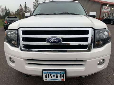 2013 Ford Expedition EL for sale at Autobahn Sales And Service LLC in Hermantown MN