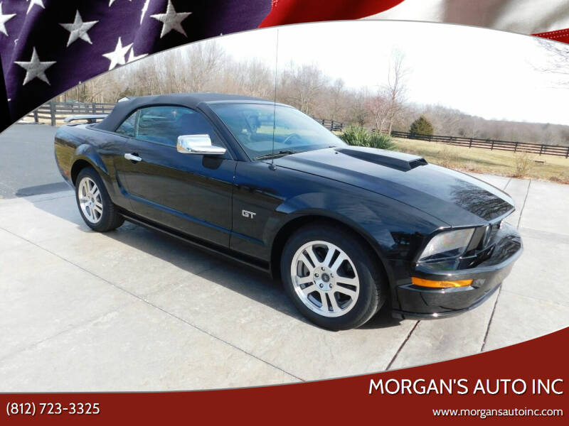 2005 Ford Mustang for sale at Morgan's Auto Inc in Paoli IN