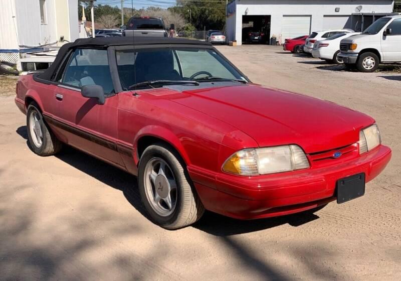 1993 Ford Mustang for sale at Cobalt Cars in Atlanta GA