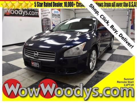 2011 Nissan Maxima for sale at WOODY'S AUTOMOTIVE GROUP in Chillicothe MO