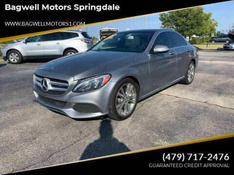 2015 Mercedes-Benz C-Class for sale at Bagwell Motors Springdale in Springdale AR