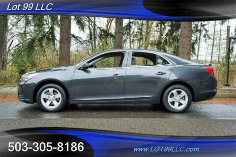 2016 Chevrolet Malibu Limited for sale at LOT 99 LLC in Milwaukie OR
