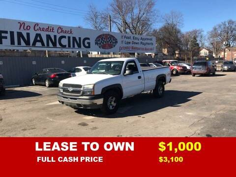 2004 Chevrolet Silverado 1500 for sale at Auto Mart USA -Lease To Own in Kansas City MO