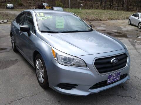 2015 Subaru Legacy for sale at Quest Auto Outlet in Chichester NH