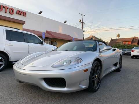 2001 Ferrari 360 Spider for sale at Auto Ave in Los Angeles CA